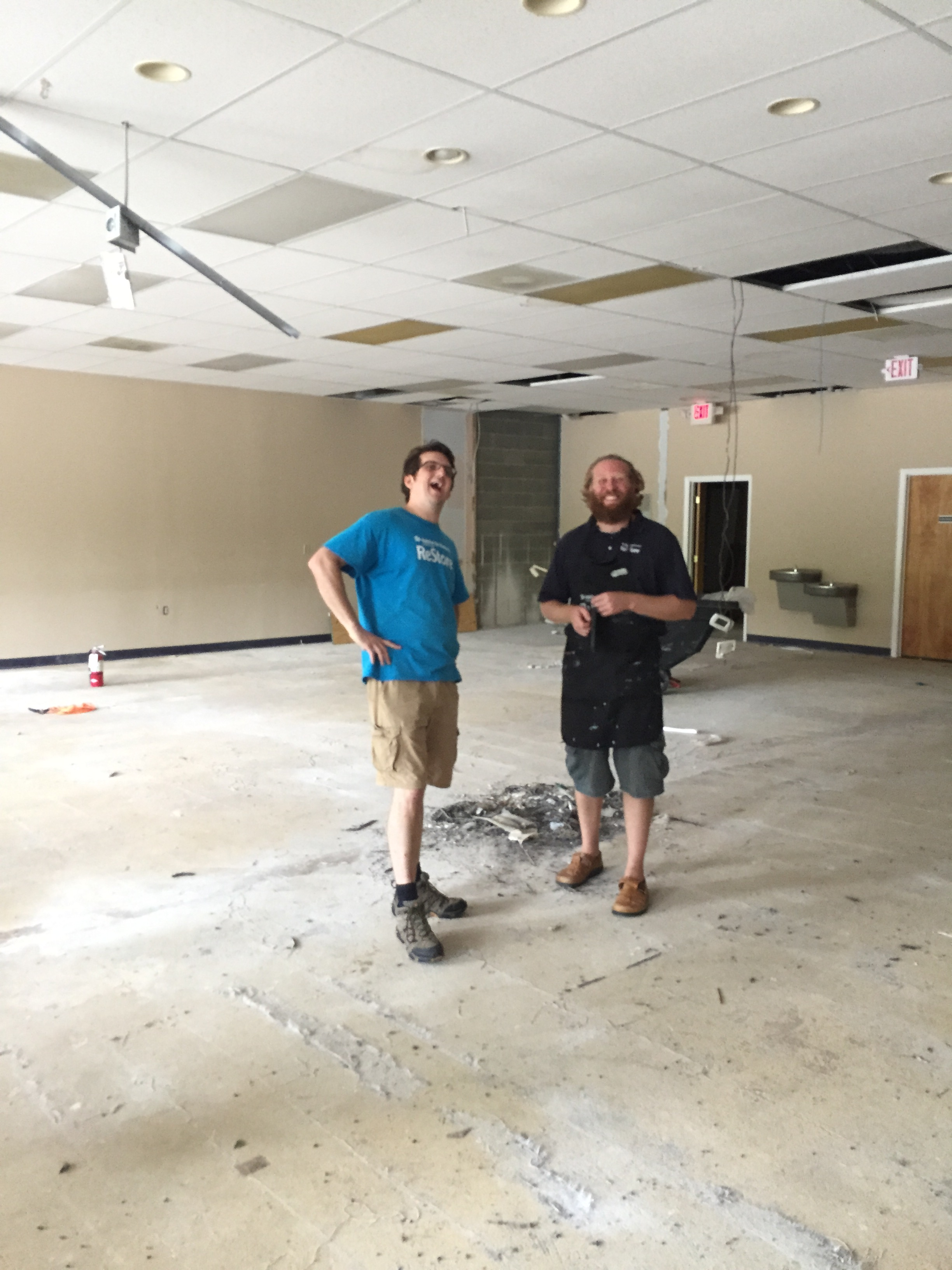 Ken and Carson are excited about the new space for the ReStore.